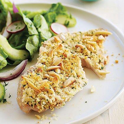 Almond-crusted Sole Recipe | MyRecipes