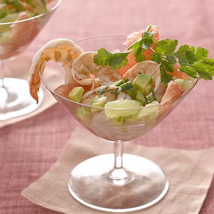 Citrus Shrimp Refresher