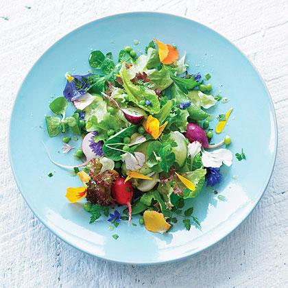 Eat-your-garden salad
