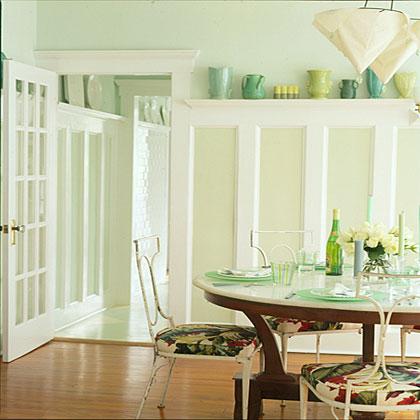 Create a pleasant atmosphere.