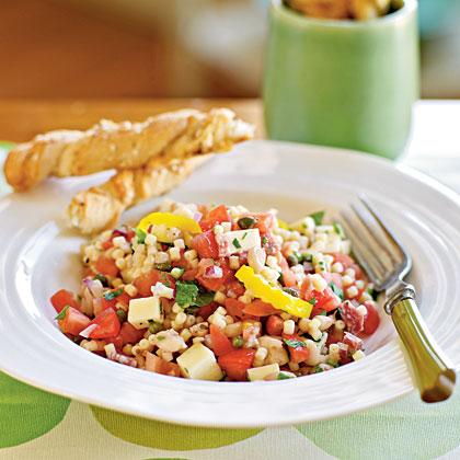Peppery Monterey Jack Pasta Salad