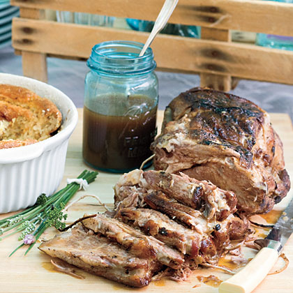 Pork Roast With Carolina Gravy