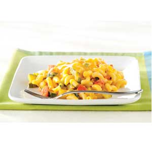 Double Cheese and Veggie Macaroni