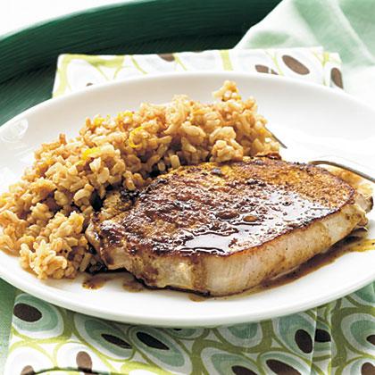 Curried Pork and Chai Rice