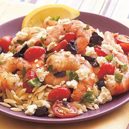 Greek-Style Shrimp Sauté