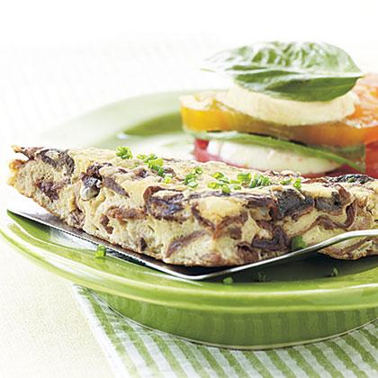 Porcini-Parmesan Frittata