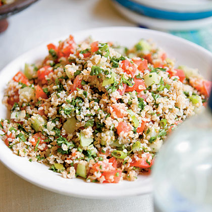 Bulgur, Mint, and Parsley Salad