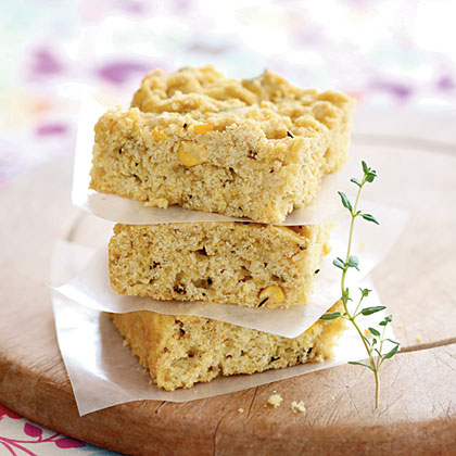 Thyme Corn Bread