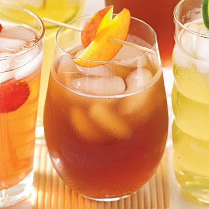 Fresh Peach Syrup