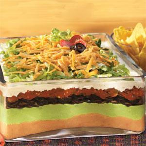 7-Layer Mexican Ranch Salad