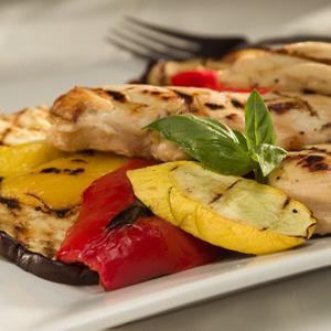 Spritzed 'n' Grilled Chicken & Veggies