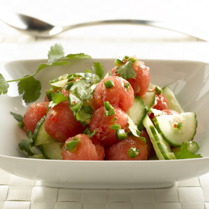 Zesty Watermelon Salad