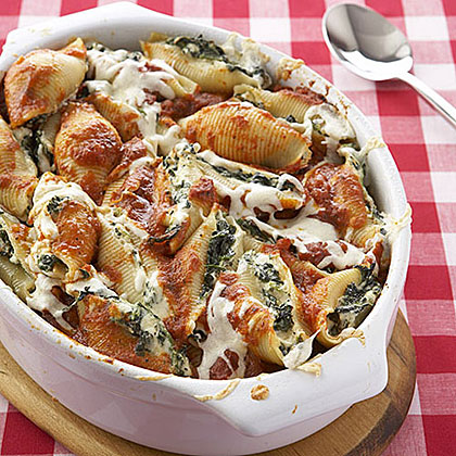 Spinach-and-Ricotta Stuffed Shells