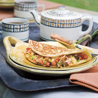 Cornbread Omelets