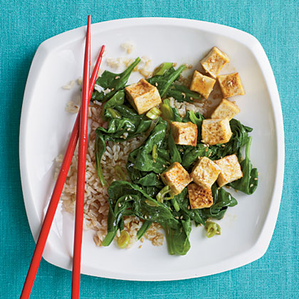 Korean-Inspired Sautéed Tofu