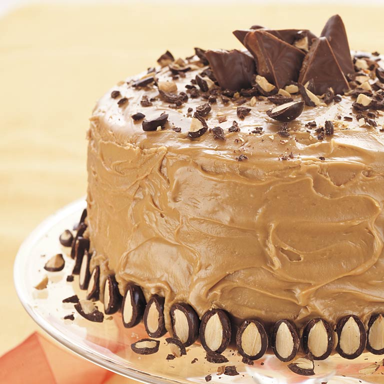 Whipped Cream Caramel Cake