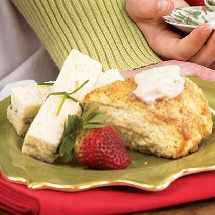 Turkey Finger Sandwiches