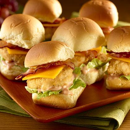 Chicklets  (Chicken Nugget Sliders)