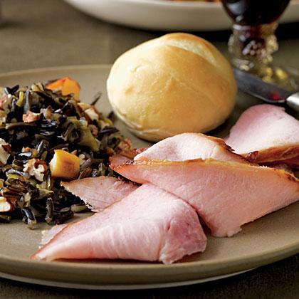 Bourbon and Orange-Glazed Ham