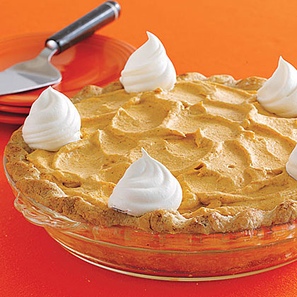 Pumpkin Mousse Pie