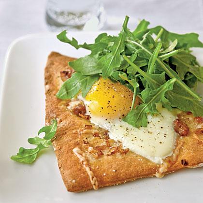 Sausage and Egg Flatbread