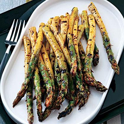 Smoky Glazed Asparagus