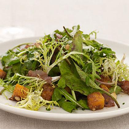 Butternut Squash Salad with Hazelnuts
