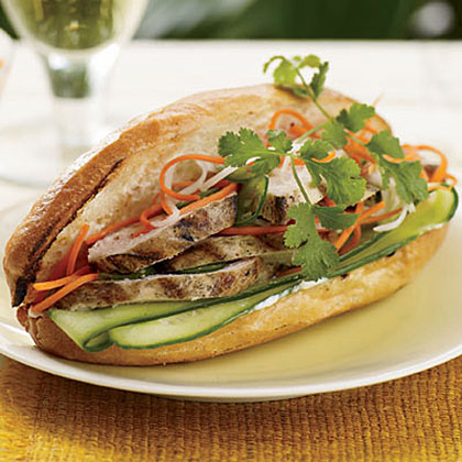 Grilled-Chicken Banh Mi