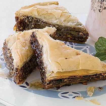 Chocolate-Hazelnut Baklava