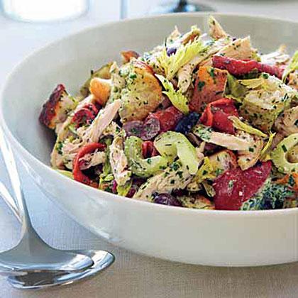 Green Goddess Chicken Salad