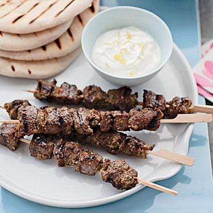 Middle Eastern Lamb Skewers