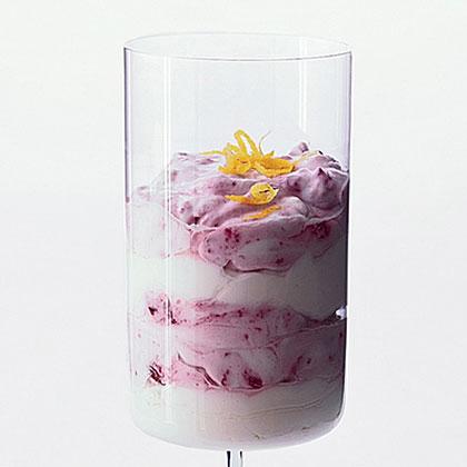 Lemon-Cherry Yogurt Parfait