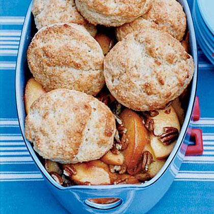 Buttermilk-Biscuit Peach Cobbler