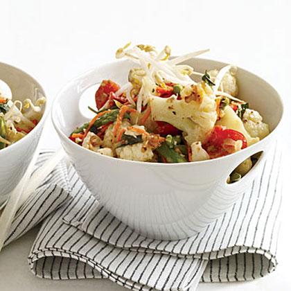 Stir-Fried Vegetables with Lemongrass