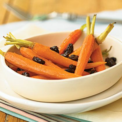 Spicy Honey-Roasted Carrots