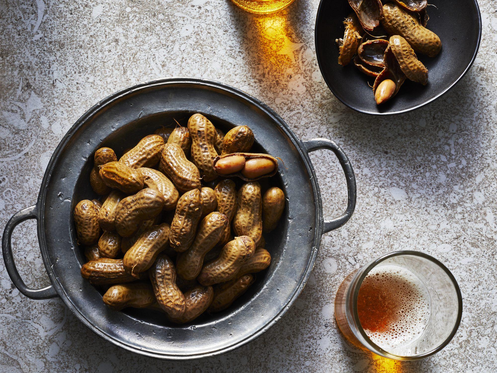 mr- boiled peanuts