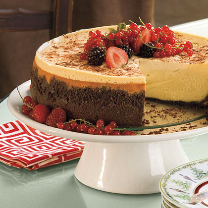 Brandy Alexander Cheesecake
