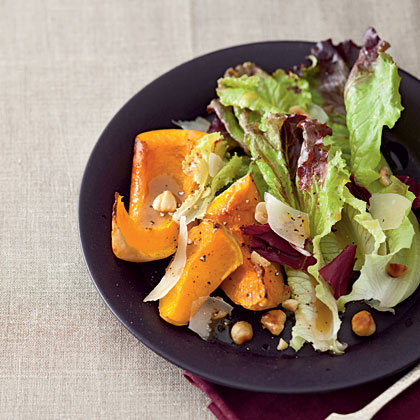 Roasted-Squash Salad with Maple Vinaigrette