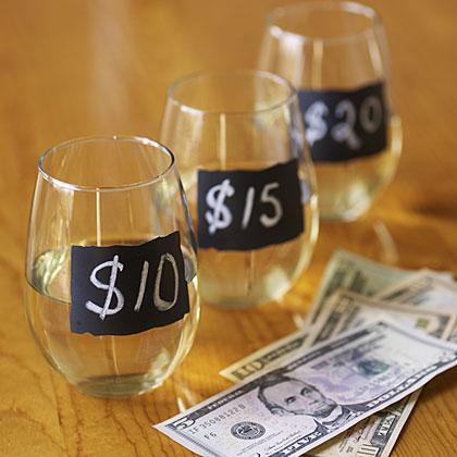 Budget wine pairing