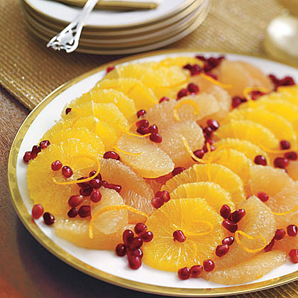 Citrus and Pomegranate Salad