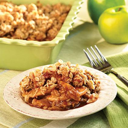 Apple Caramel Crisp