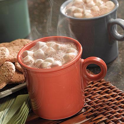 Cinna-Nut Hot Chocolate