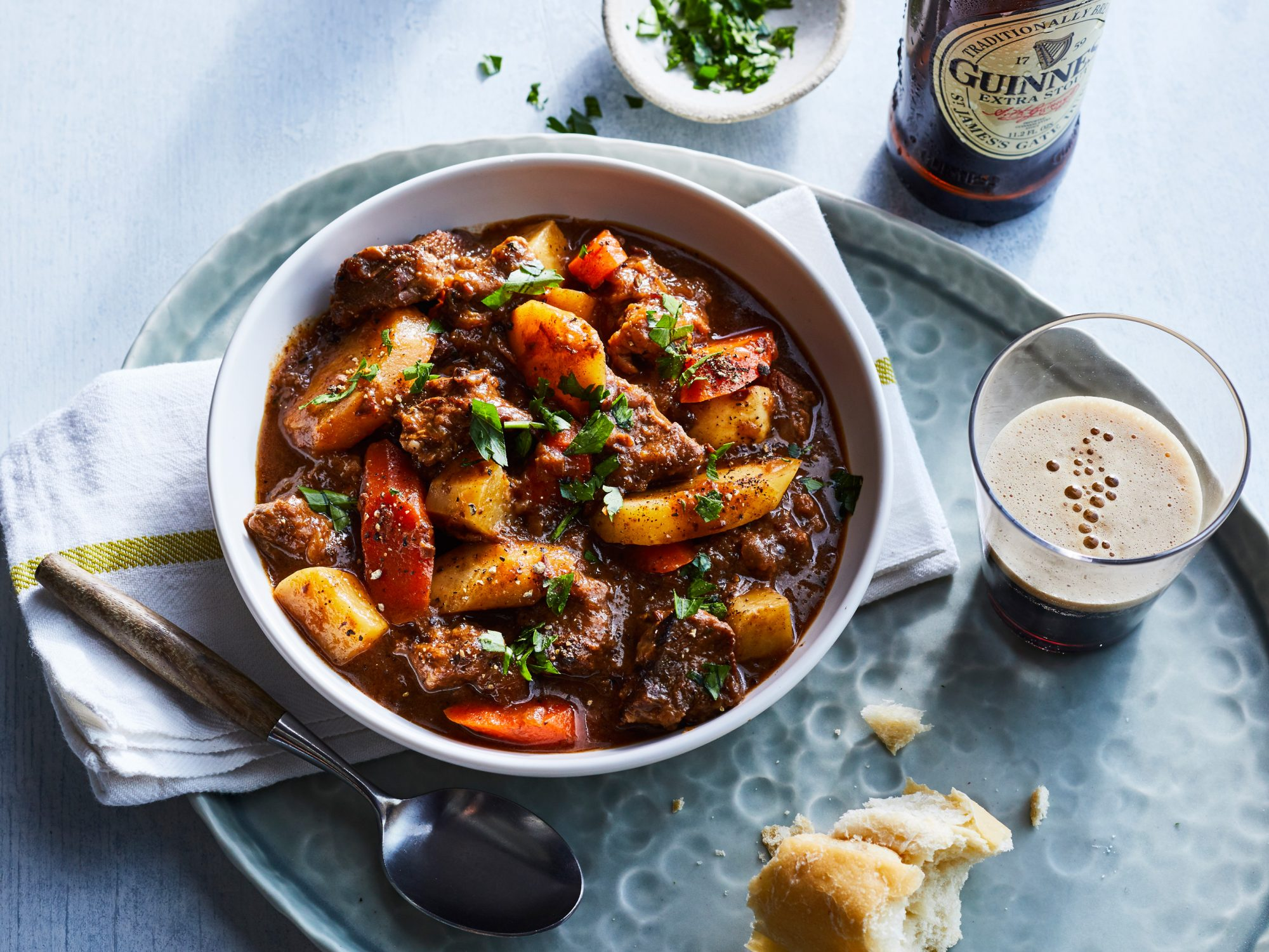 Beef And Guinness Stew Recipe Myrecipes