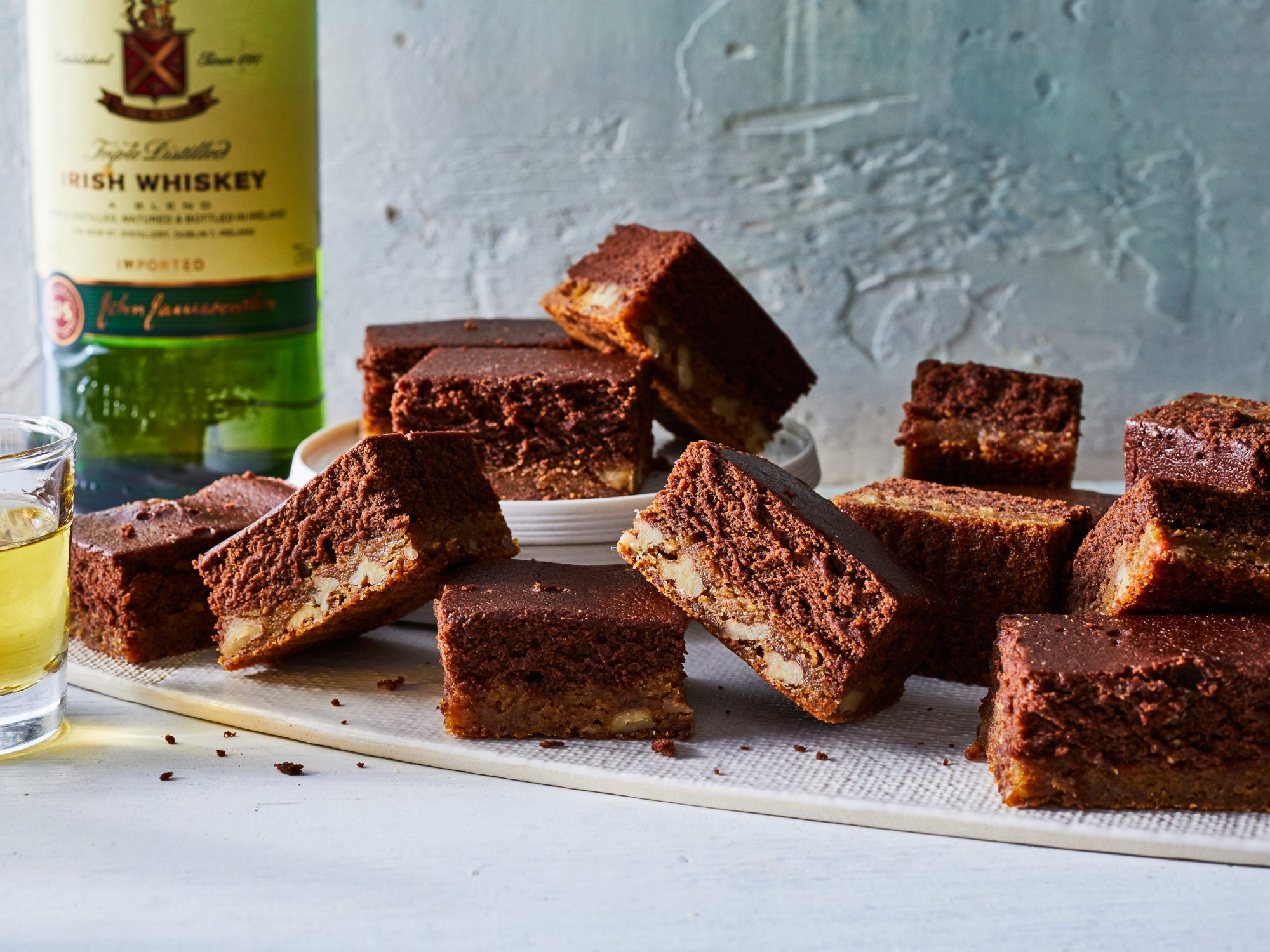 Black and Tan Brownies image
