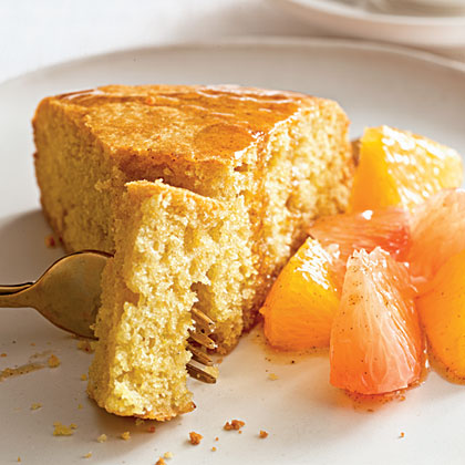 Tuscan Cake with Citrus Compote