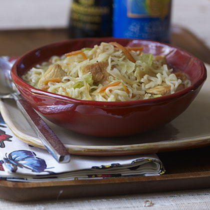Quickest Chicken Noodle Soup