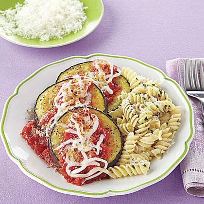 Broiled Eggplant Parmesan