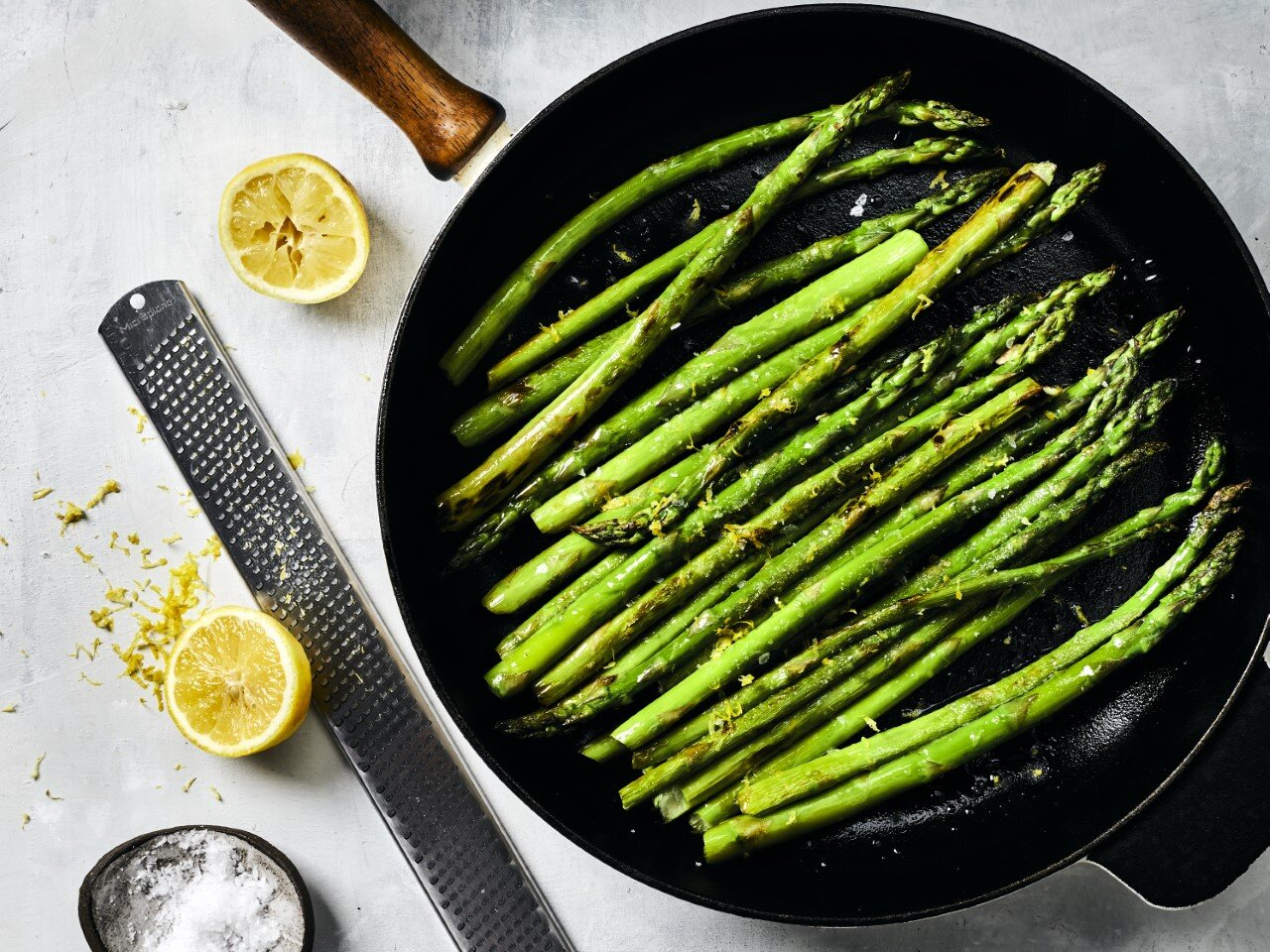 Quick Skillet Asparagus Recipe Myrecipes