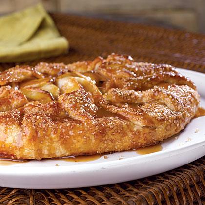 Caramel-Apple Galette