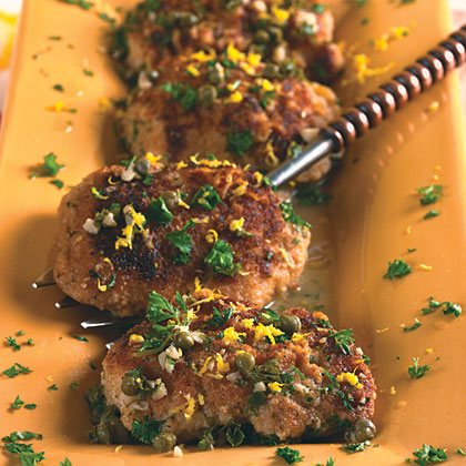 Chicken Thighs Piccata-Style